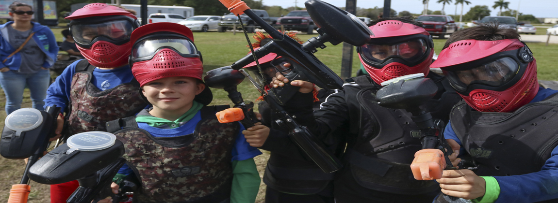 Low Impact Paintball at Extreme Rage Paintball Park of Fort Myers