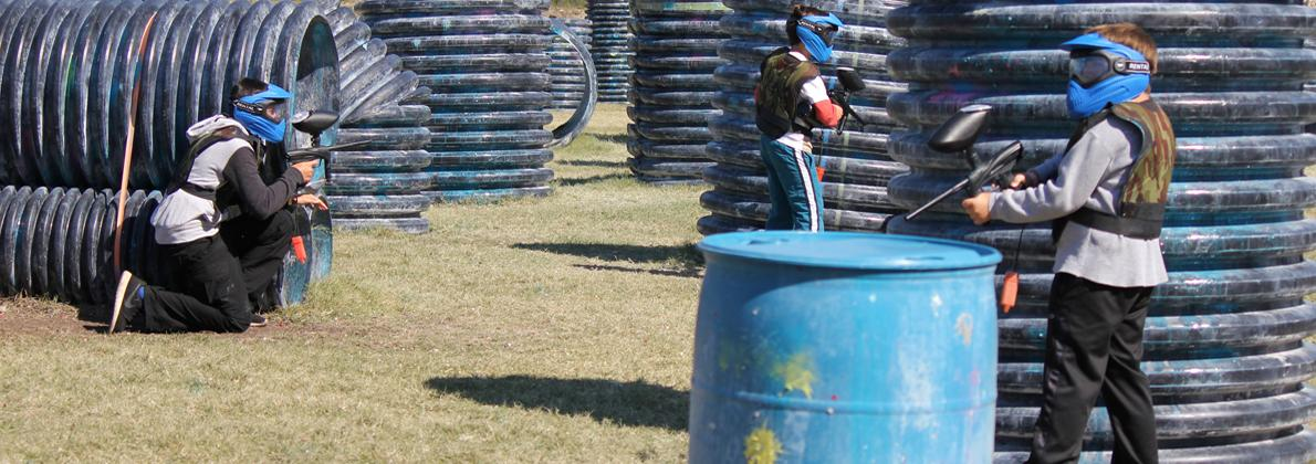 A Low Impact Paintball Party at Extreme Rage Paintball Park of Fort Myers